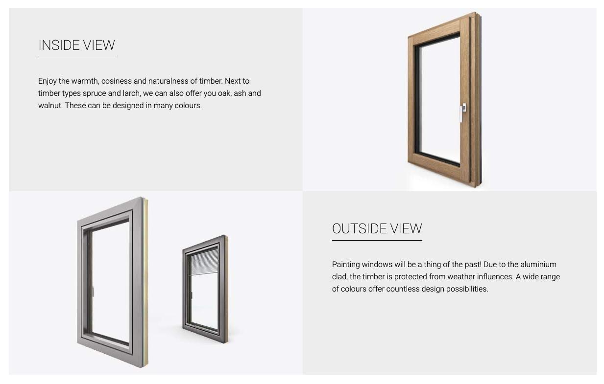 timber, aluclad windows, internorm, Ireland
