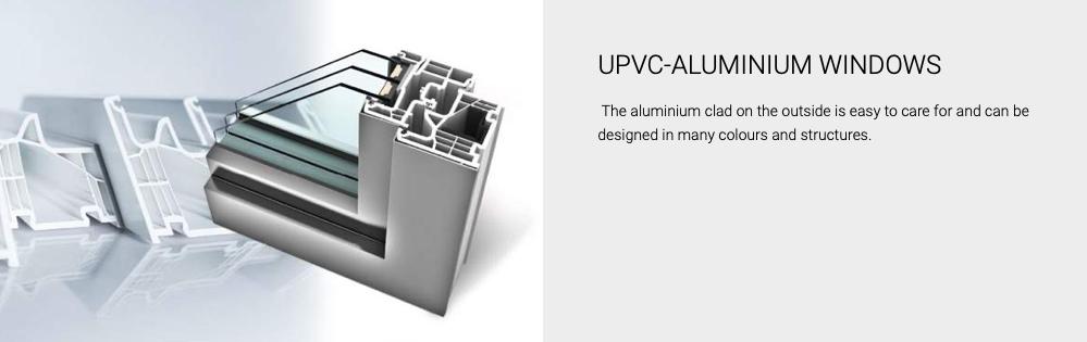 upvc aluminium windows, aluclad windows, ireland, internorm
