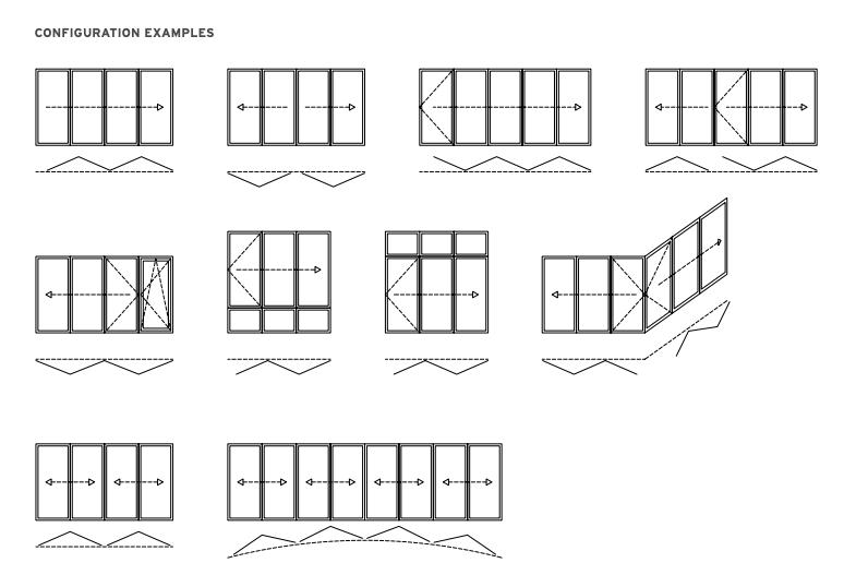 Solarlux, Ireland, bi-fold doors, configuration, Dublin